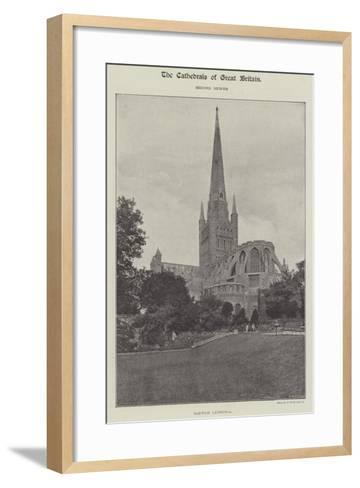 Norwich Cathedral--Framed Art Print