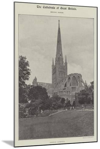 Norwich Cathedral--Mounted Giclee Print