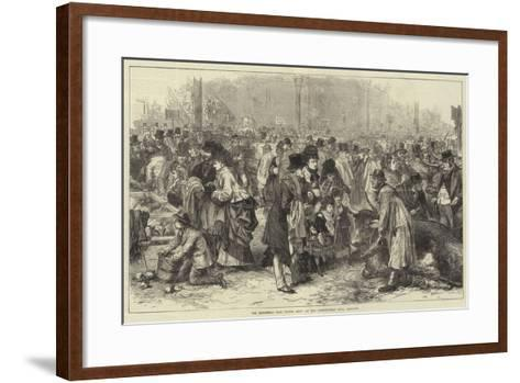 The Smithfield Club Cattle Show at the Agricultural Hall, Islington--Framed Art Print