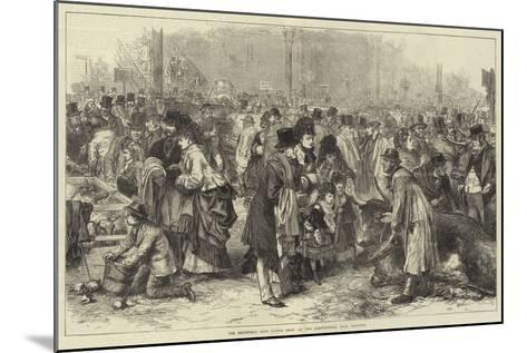 The Smithfield Club Cattle Show at the Agricultural Hall, Islington--Mounted Giclee Print