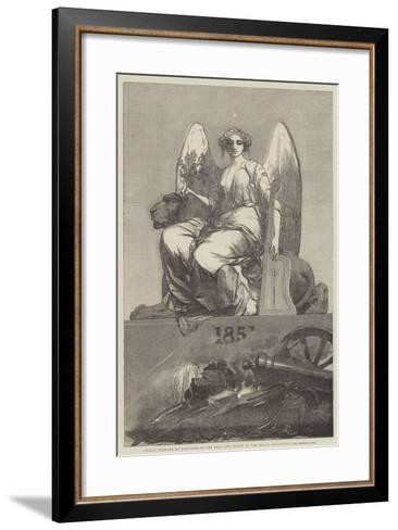 Peace, in the Fine Arts Court of the Great Exhibition--Framed Art Print