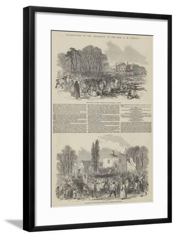 Celebration of the Majority of the Honourable a H Vernon--Framed Art Print