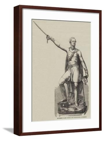 Monument to Captain Pechell Just Inaugurated at Brighton--Framed Art Print
