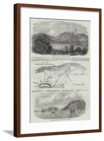 Operations Against the Russian Squadron in the Pacific--Framed Art Print