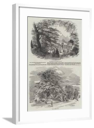 Syon, the Seat of His Grace the Duke of Northumberland--Framed Art Print