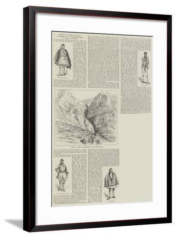 Notes of Greek Travel, Delphi and its Neighbourhood--Framed Art Print