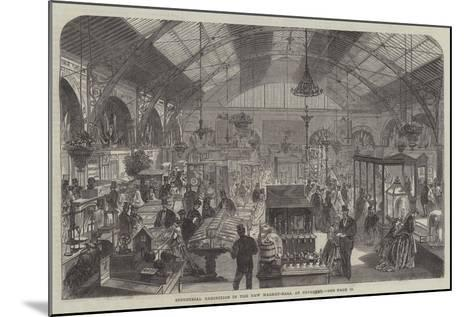 Industrial Exhibition in the New Market-Hall at Coventry--Mounted Giclee Print