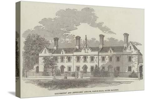 Goldsmiths' and Jewellers' Asylum, Manor-Road, South Hackney--Stretched Canvas Print