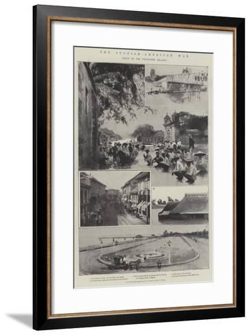 The Spanish-American War, Views in the Philippine Islands--Framed Art Print