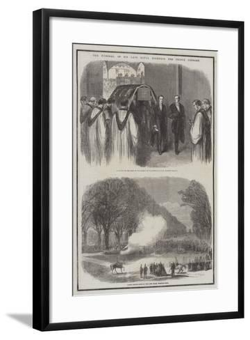 The Funeral of His Late Royal Highness the Prince Consort--Framed Art Print