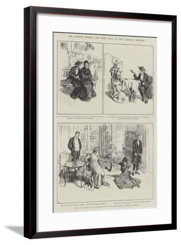22A, Curzon Street, the New Play at the Garrick Theatre--Framed Art Print