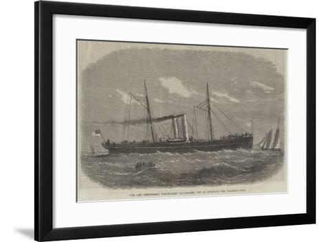 The Late Confederate War-Steamer Tallahassee, Now at Liverpool--Framed Art Print