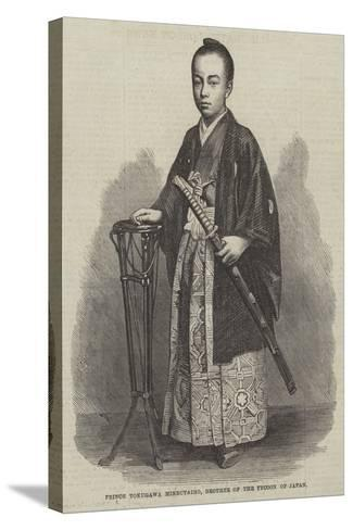 Prince Tokugawa Minbutaiho, Brother of the Tycoon of Japan--Stretched Canvas Print