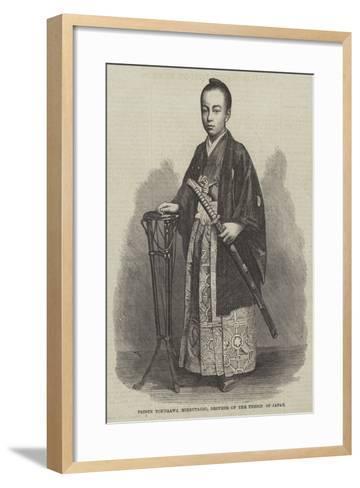 Prince Tokugawa Minbutaiho, Brother of the Tycoon of Japan--Framed Art Print