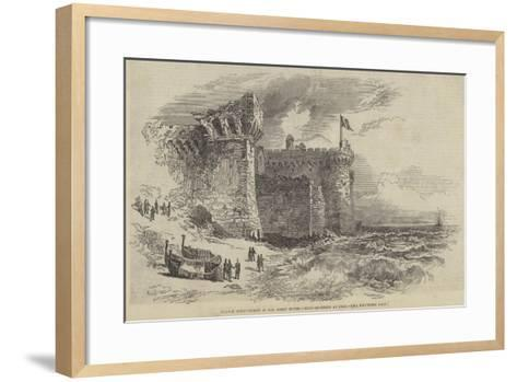 French Intervention in the Roman States, Head-Quarters at Palo--Framed Art Print