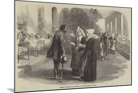 Sisters of Charity (St Benoit), in the New Hospital, at Pera--Mounted Giclee Print