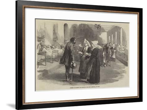 Sisters of Charity (St Benoit), in the New Hospital, at Pera--Framed Art Print