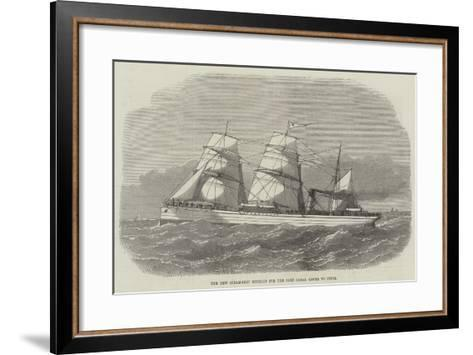 The New Steam-Ship Othello for the Suez Canal Route to India--Framed Art Print