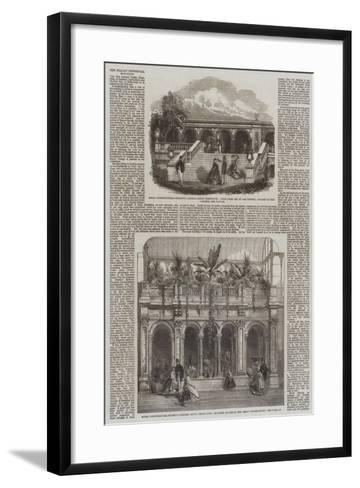 Royal Horticultural Society Gardens in South Kensington--Framed Art Print