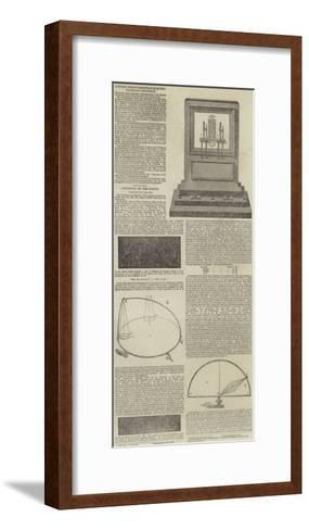 Electrographic Instruments and the Rotation of the Earth--Framed Art Print