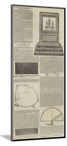 Electrographic Instruments and the Rotation of the Earth--Mounted Giclee Print