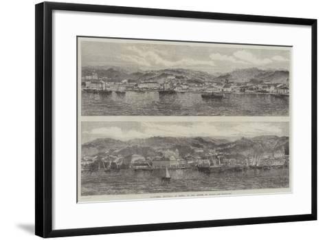 Cachoeira, Province of Bahia, in the Empire of Brazil--Framed Art Print