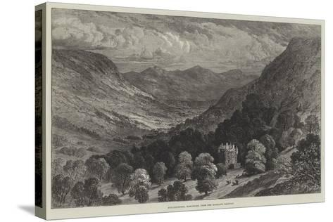 Strathpeffer, Ross-Shire, from the Highland Railway--Stretched Canvas Print