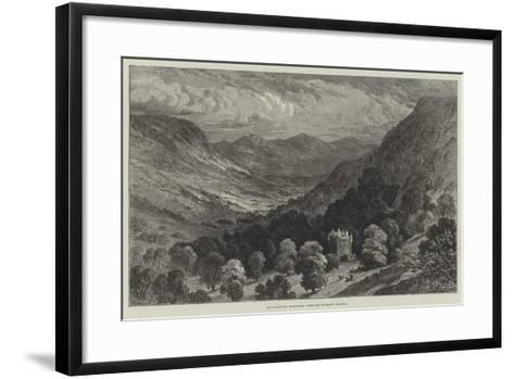 Strathpeffer, Ross-Shire, from the Highland Railway--Framed Art Print