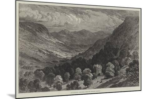 Strathpeffer, Ross-Shire, from the Highland Railway--Mounted Giclee Print