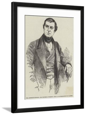 The Attorney-General, Sir Frederick Thesiger--Framed Art Print
