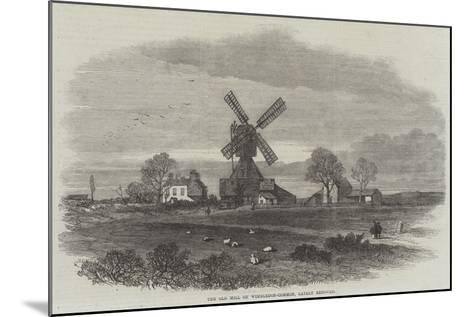 The Old Mill on Wimbledon-Common, Lately Removed--Mounted Giclee Print