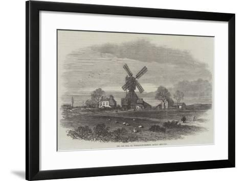 The Old Mill on Wimbledon-Common, Lately Removed--Framed Art Print