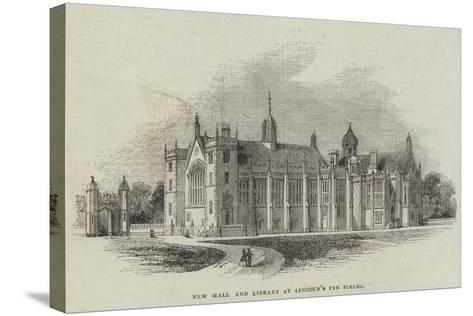 New Hall and Library at Lincoln's Inn Fields--Stretched Canvas Print
