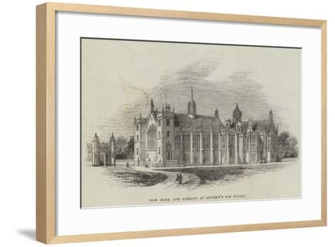 New Hall and Library at Lincoln's Inn Fields--Framed Art Print