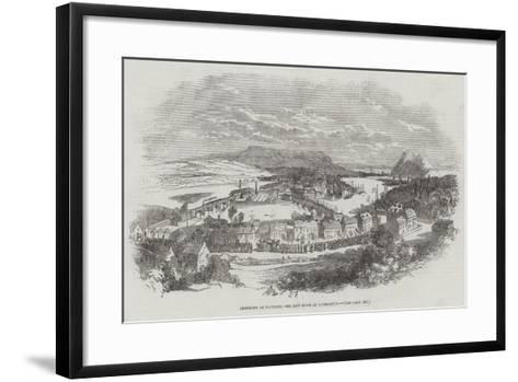 Ceremony of Founding the New Town of Dumbarton--Framed Art Print