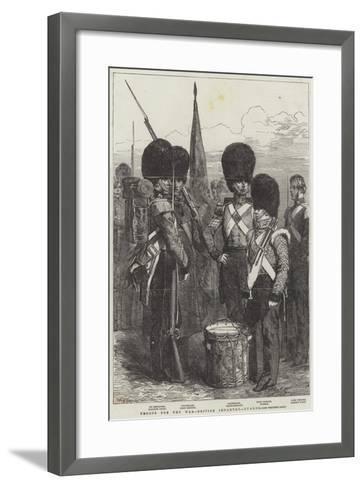 Troops for the War, British Infantry, Guards--Framed Art Print