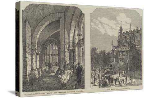 Illustrations of the Gloucester Musical Festival--Stretched Canvas Print