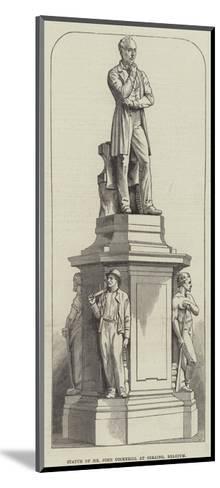 Statue of Mr John Cockerill at Seraing, Belgium--Mounted Giclee Print