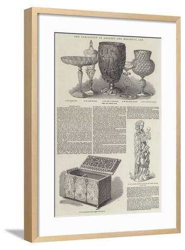 The Exhibition of Ancient and Mediaeval Art--Framed Art Print