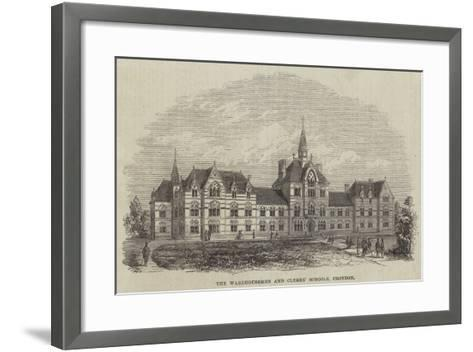 The Warehousemen and Clerks' Schools, Croydon--Framed Art Print