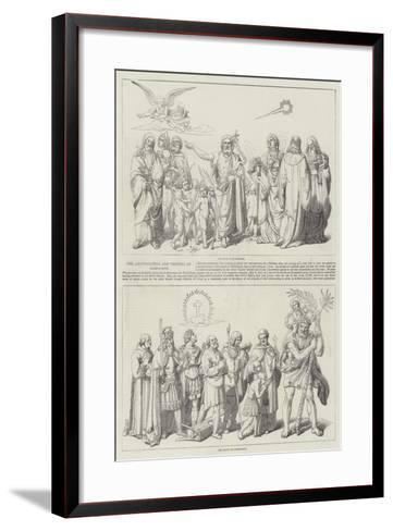 The Annunciation and Triumph of Christianity--Framed Art Print