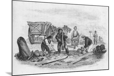 The Pavier, from 'The Book of Trades', 1836--Mounted Giclee Print