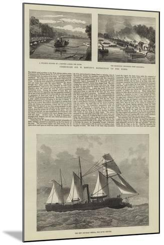 Commodore Sir W Hewitt's Expedition Up the Niger--Mounted Giclee Print