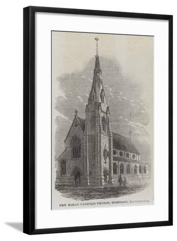 New Roman Catholic Church, Rusholme, Manchester--Framed Art Print