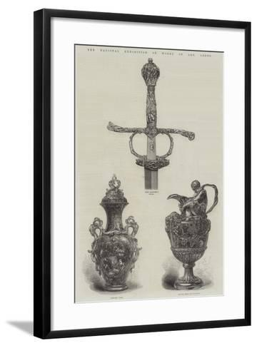 The National Exhibition of Works of Art, Leeds--Framed Art Print