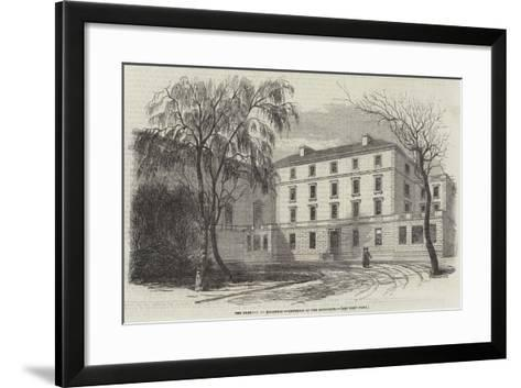 The Oratory, at Brompton, Exterior of the Residence--Framed Art Print