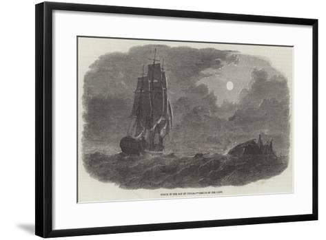 Wreck in the Bay of Bengal, Rescue of the Crew--Framed Art Print