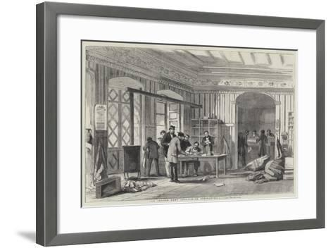 The British Army Post-Office, Constantinople--Framed Art Print