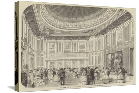 The New State Supper-Room, Buckingham Palace--Stretched Canvas Print