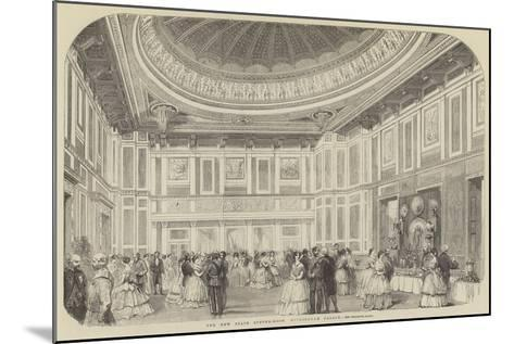 The New State Supper-Room, Buckingham Palace--Mounted Giclee Print